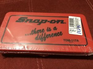 Snap on Tools Tap And Die Set Tdm 117a Factory Sealed