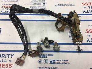 Honda Civic Ignition Switch Complete W key Lock Set 96 97 98 99 00 Oem Part Ex