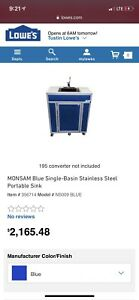 Monsam Portable Hand Sink 5 Gallon Fresh 7 5 Gallon Waste