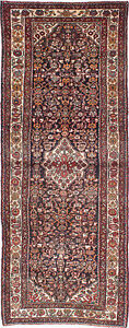 Hand Knotted Persian Carpet 3 7 X 9 4 Traditional Wool Rug