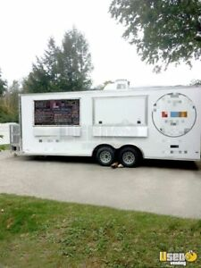 2017 8 5 X 22 Food Pizza Concession Trailer For Sale In Vermont