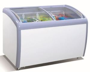 Atosa 39 Commercial Angle Curved Top Chef Freezer Mmf9109