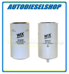 Wix Spin Fuel Filter Water Separator For Fass Titanium Series Fuel Pumps