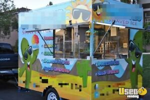 6 X 10 Shaved Ice Concession Trailer For Sale In Nevada