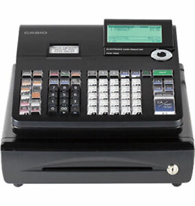 Casio Pcr t500 Electronic Cash Register 3000 Plus 50 Clerks
