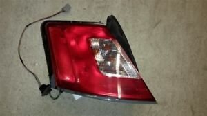 10 11 12 Ford Taurus Driver Tail Light Quarter Panel Mounted Chrome Surround
