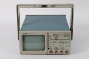 Tektronix Tds460a 400 Mhz 4 Channel Digital Real time Oscilloscope Opt 05 1f
