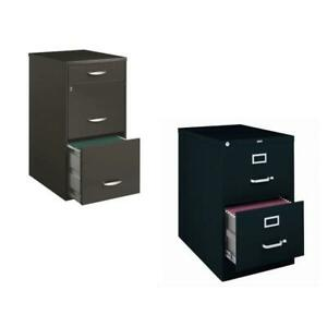 value Pack 2 Drawer File Cabinet And 3 Drawer File Cabinet