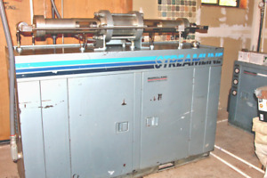 Abrasive Waterjet Cutting System Ingersoll Rand Operated Only 333 Hours
