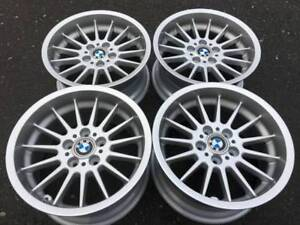 Set Of Nice Genuine Bmw Style 32 17x8 17x9 Rims In Showrm Cond 5 Series E39