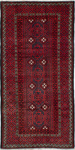 Hand Knotted Persian 4 7 X 9 6 Persian Vintage Traditional Wool Rug