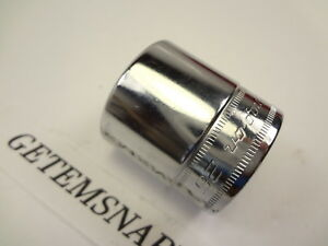 Rare Snap On 3 8 Drive 26mm Shallow 6pt Metric Socket Fsm261 Mint