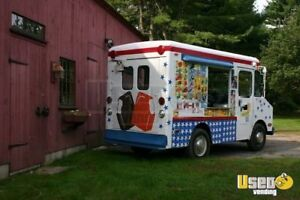 Antique Chevy Ice Cream Truck For Sale In Massachusetts