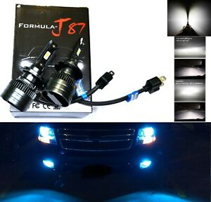 Led Kit C6 72w H7 10000k Blue Two Bulbs Head Light Low Beam Replacement Lamp Fit