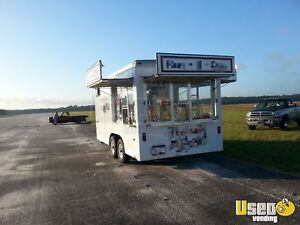 8 X 16 Food Concession Trailer For Sale In South Carolina