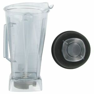 Vitamix 756 Clear Replacement 64 Oz Container With Ice Blade