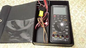 Protek 506 Digital Multimeter True Rms Rs232c Interface