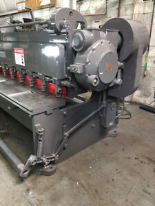 Cincinnati 1410 Mechanical Squaring Shear 3070