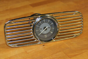 Vw Type 1 1953 1957 Zwitter Oval Accessory Tachometer Dash Grill Combo Beige