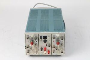 Tektronix Tm503 Chassis 2x Am502 Differential Amp Ps 501 1 Power Supply