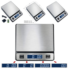 Digital Weight Postal Shipping Scale Large Display 0 1 Oz To 90 Lb For Mail