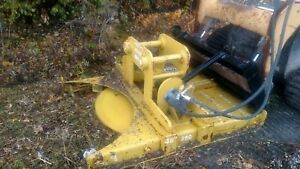 Sec Brush Cutter Mower Mulcher For Excavator Backhoe Skid Steer Skidsteer