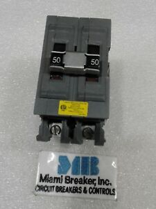 Ubia250ni Wadsworth 2p 50amp 120 240vac Circuit Breaker New
