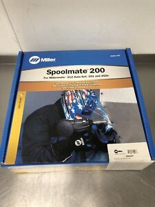 New Unopened Miller Spoolmate 200 Spool Gun And Case 300497 Ships Free