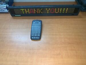 Beta Brite Full Color Led Message Display W Remote Pwr Adapter