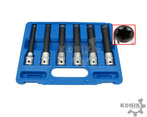 Large Internal Torx Deep Socket Set 1 2 dr 140mm Deep