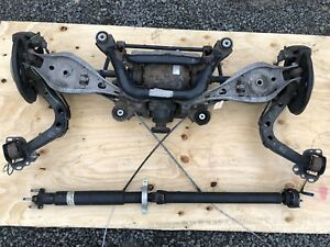 01 06 Bmw E46 M3 Complete Rear End Lsd Swap Differential Driveshaft 92k