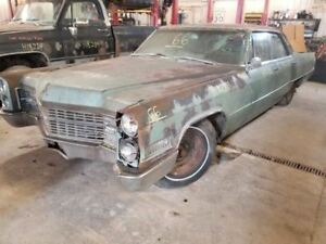 1966 Cadillac Deville Bench Seat Front 496579