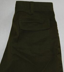 Fss Wildland Firefighter Pants Aramid Green Made In Usa Size 40x30 Euc