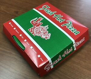 Lot Of 40 000 Pizza Boxes Coated Clamshell Pizza Slice Box 250 pack 02 Each