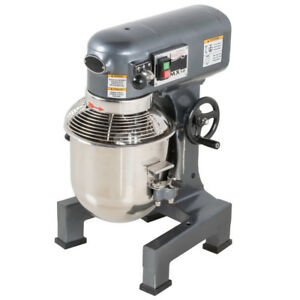 10 Qt Electric 3 speed Commercial Planetary Stand Mixer With Guard 110 Volt