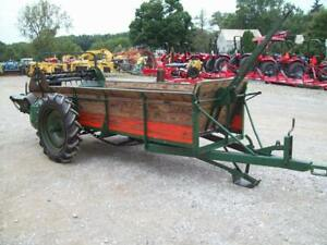 Nice Older New Idea 12a Manure Spreader Ground Drive Good Condition