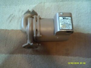Taco 2400 Series Hi capacity Circulator Pump 1 2 Hp