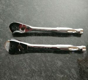 Matco Tools Cfr108 1 2 Dr 88 Tooth Fixed 10 Long Chrome Ratchet Cfr108t Snap On