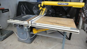 Delta Rockwell Unisaw 10 Table Saw With Biesmeyer Fence And Excalibur Dust