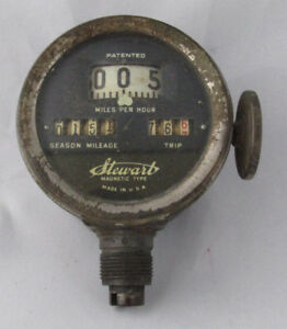 1917 Stewart Speedometer Dash Gauge Instrument Model T Ford 1915 18 Hot Rat Rod