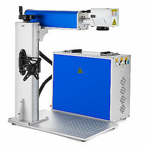 30w Split Type Fiber Laser Marking Machine Metal Nameplate Coding Machine