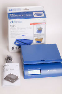 25lb Usps Postal Shipping Scale With Box And Instructions 9v Battery Operated