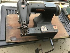 Lewis 150 2 Blind Stitch Sewing Machine Head Denim And Upholstery Sewing