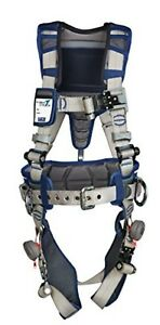 3m Dbi sala Exofit Construction Style Positioning Harness Xl Blue
