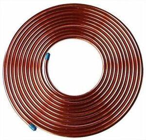 7 8 Od X 50 Ft Soft Copper Refrigeration Tubing Hvac made In Usa 7 8