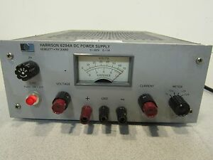 Hp Harrison 6294a Regulated Dc Power Supply Output 0 60v 0 1a Priced To Move