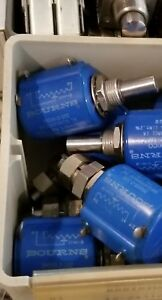 Lot Of 8 Bourns 3500s 2 102 Potentiometer 1k Ohm 1 Gang Linear Panel Mount