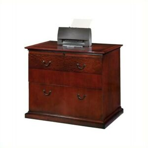 Flexsteel Del Mar 2 Drawer Lateral Wood File In Sedona Cherry
