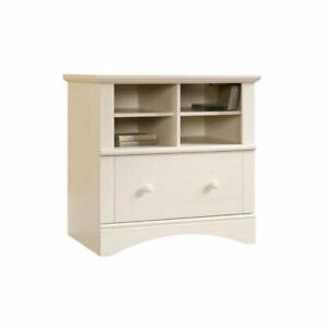 Scranton Co 1 Drawer Lateral Wood File Cabinet In Antique White