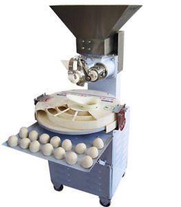 Dough Divider Rounder Automatic Flat Bread Tortilla Machine 110v 60hz 280kg hour